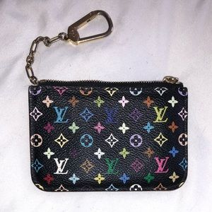 Louis Vuitton Multicolor Monogram Cles Noir